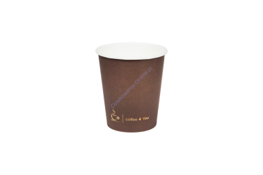 Kubek papierowy 150ml Coffee For You C4U 100 szt Kram